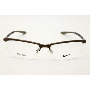 Nike Eyeglasses 6073 214 Brown 56mm